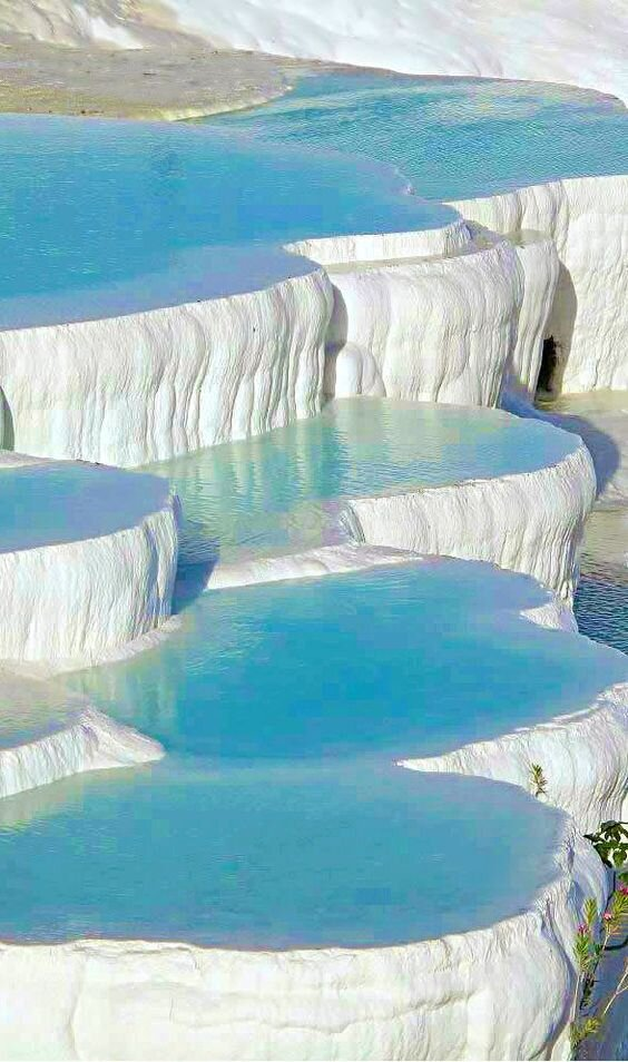 Pamukkale Hot Springs, Turkey